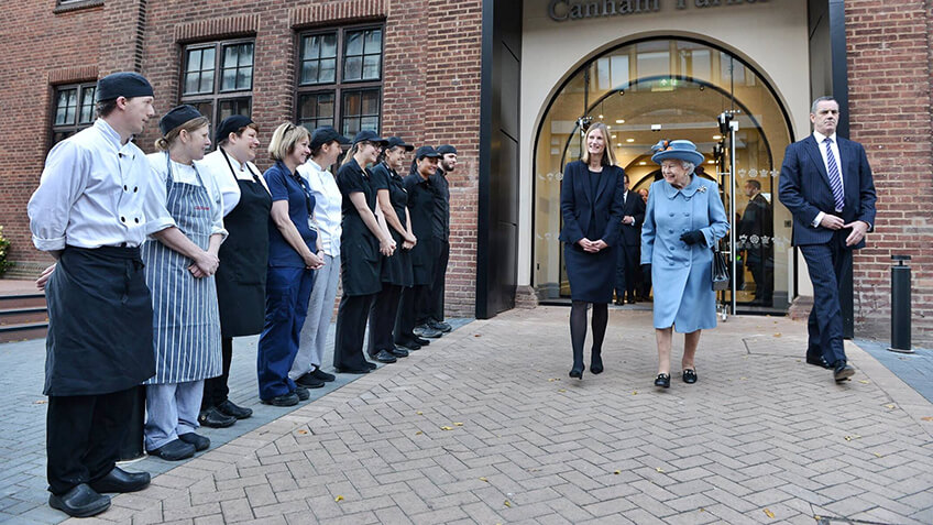 Celebration as Her Majesty the Queen opens Allam Medical Building