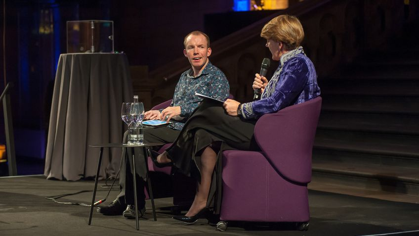 Lee Ridley revealed as charity ambassador for Scope