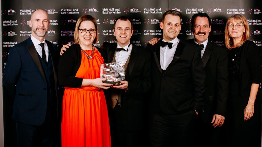 >Beyond Events wins Remarkable East Yorkshire Tourism Award!